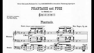 Reger: Phantasie und Fuge über den Namen BACH op. 46