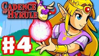 Cadence of Hyrule - Gameplay Walkthrough Part 4 - Waking Up Zelda! (Nintendo Switch)