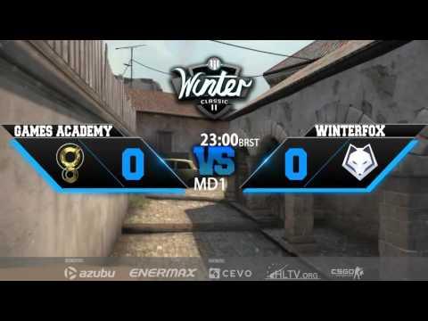 RGN Winter Classic II - Games Academy vs. Winterfox (Train) - Narração PT-BR
