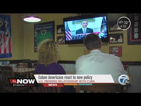 The Now Detroit: Cuban Americans react to new policy