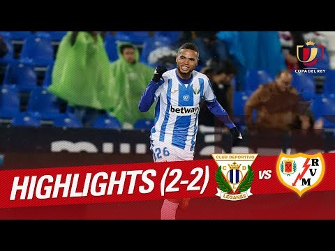 Resumen de CD Leganés vs Rayo Vallecano (2-2)