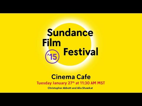 Cinema Cafe: Christopher Abbott and Alia Shawkat @ 2015 Sundance Film ...