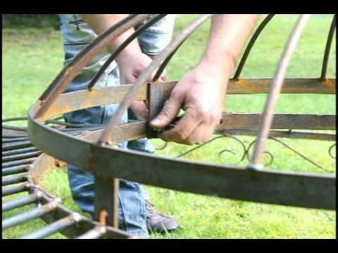Montageanleitung Metallpavillon Holland