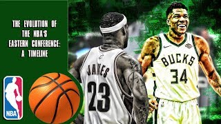 The Evolution of The NBA's Eastern Conference: A Timeline