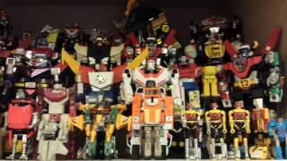 Chogokin megazords popynica and transformers. Mighty orbots