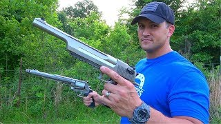 Desert Eagle 50 AE vs 500 S&W Magnum - THE REMATCH!!!