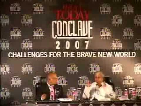 Lalu Prasad Yadav speech at India Today Conclave 2007 - part...