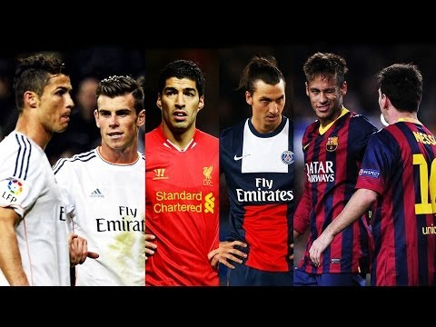 Best Football Skill Show 2014 ● Ronaldo ● Messi ● Neymar ● Bale ● Suarez ● Ibrahimovic ● Hd video