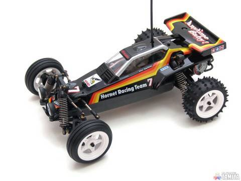 The Hornet Rc >> Tamiya GB01 mini Hornet RC buggy 1:16 scale - YouTube