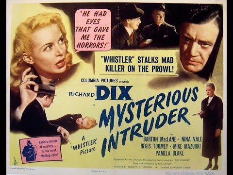 Фильм-нуар  Таинственная гостья (1946)  Richard Dix Barton MacLane Nina Vale