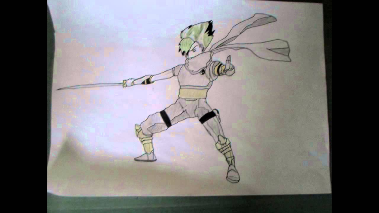 Apprendre a dessiner un ninja youtube - Dessin anime des tortues ninja ...