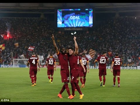 ЦСКА против Roma - Лига Чемпионов 2014