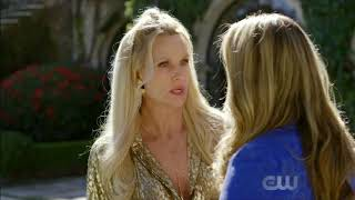 Fallon And Alexis Dynasty 1x17 The Pool Fight Scene