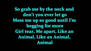 Conor Maynard - Animal Lyrics On Screen [HD 1080p]
