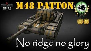 M48A1 Patton Review | Massive Yank Tank | World of Tanks Blitz