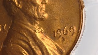 CoinStacker Coin of the Day - 1969-S Double Die Obverse Lincoln Cent