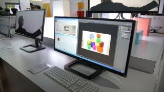 LG EA93 UltraWide 29-inch Monitor First Look - CES 2013