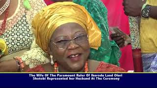 OTUNBA STEVE ANIFOWOSE MOTHER IN LAW MADAM ESTHER ADEBISI KALESANWO AT 80