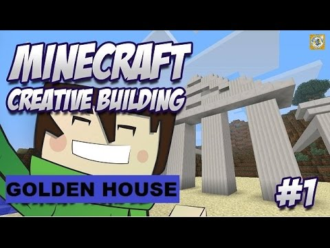 Golden House Minecraft