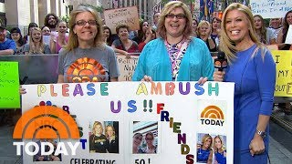 These 2 Best Friends Embrace Their Glamorous Ambush Makeovers | TODAY