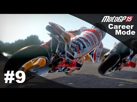 MotoGP 15 Career Mode Walkthrough - Part 9 NEW SEASON Moto 2 (Qatar, America & Argentina)