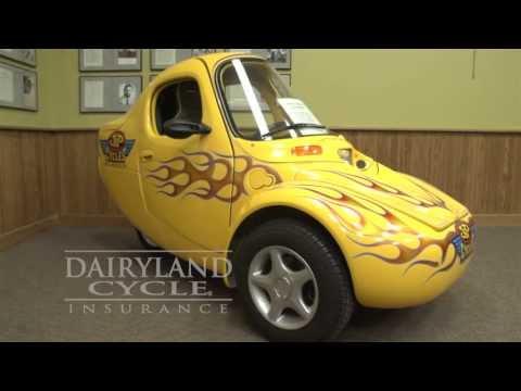 2000 Corbin Sparrow Motorcycle via Dairyland Cycle Insurance