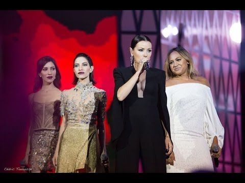 Tina Arena, Jessica Mauboy and The Veronicas Chains ARIA Awards Australia 2015