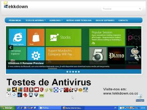 Teste Completo - Norton Internet Security 2013