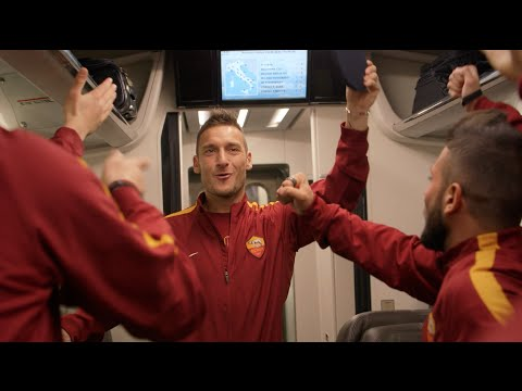 FRECCIAROSSA is AS ROMA's official train!