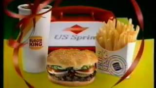 """1990 Burger King """"Christmas BK Bucks"""" TV Commercial"""