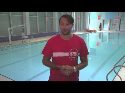 Join in the fun with Ian Thorpe and register for the Sainsbury's Sport Relief Swimathon