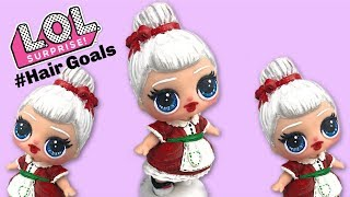 Custom LOL SURPRISE DOLL Hair Goals- How to paint realistic hair!
