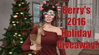 Berry's 2016 Holiday Giveaway in Second Life - BishBox Subscription Box!