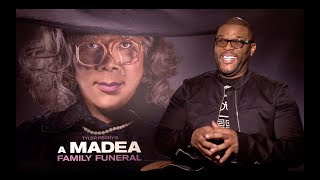 Tyler Perry Does Madea Impression, Talks Killing Madea and MADEA FAMILY FUNERAL