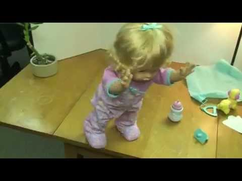 Little Mommy Walk & Giggle Doll Demo