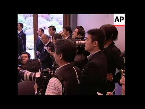 Former Pres Lee Teng-hui receives award during visit to Japan