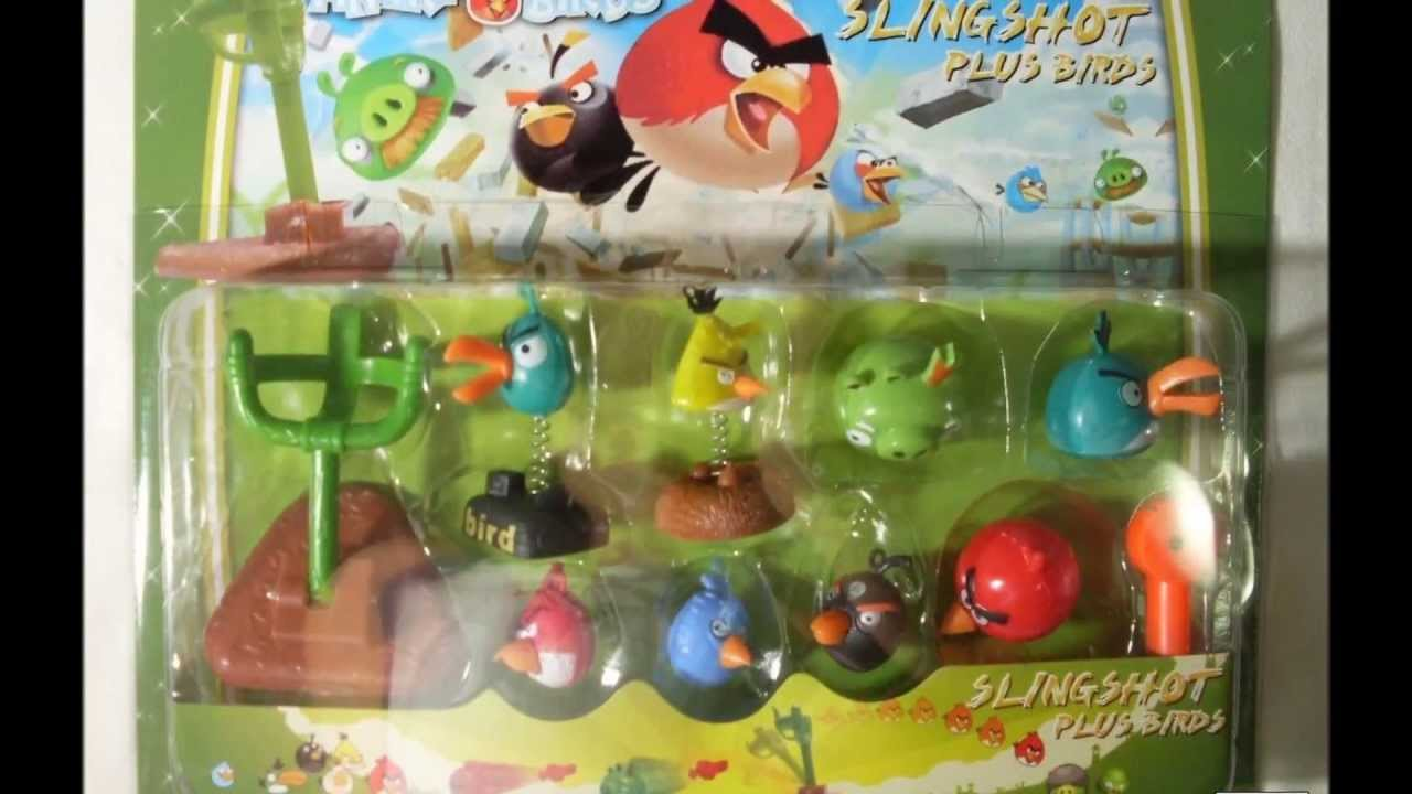 Angry Birds Toys : Angry birds kids toy collection video space stars wars