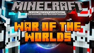 Minecraft (Xbox 360) PVP Map: War Of The Worlds [Download In Description]