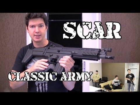 Review - FN SCAR Classic Army - Airsoft Brasil