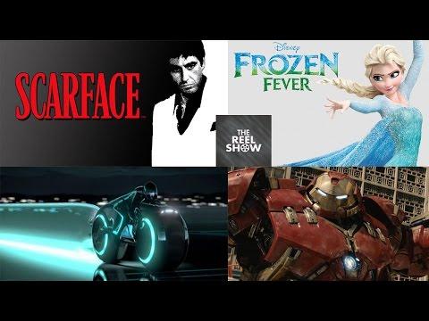 The Reel Show - [Movie News] Scarface remake, Tron 3, Frozen 2, Avengers TV spot, Pixels trailer