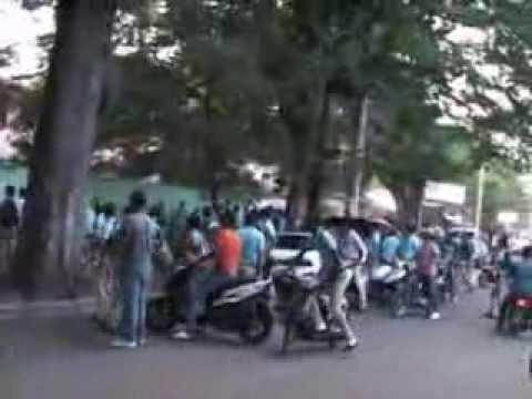 BONAO: Pleito de Gangas deja herido en el Liceo Elias Rodriguez
