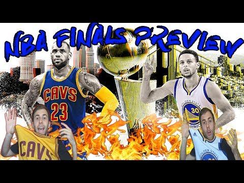 PREVIEW NBA FINALS 2017! GSW vs CLE!
