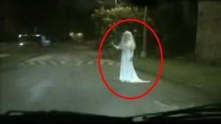 Top 10 Scary Ghost Caught On Roads  Paranormal Activity  Scary Videos  Ghost Sighting