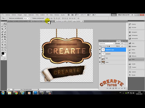Como Fazer logotipos e layout no Photoshop Cs5
