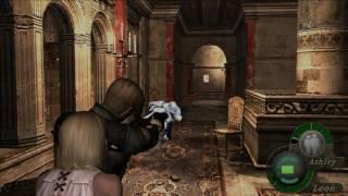 Resident evil 4 - Arma PRL 412 - Diferencias entre la versión HD y la antigua