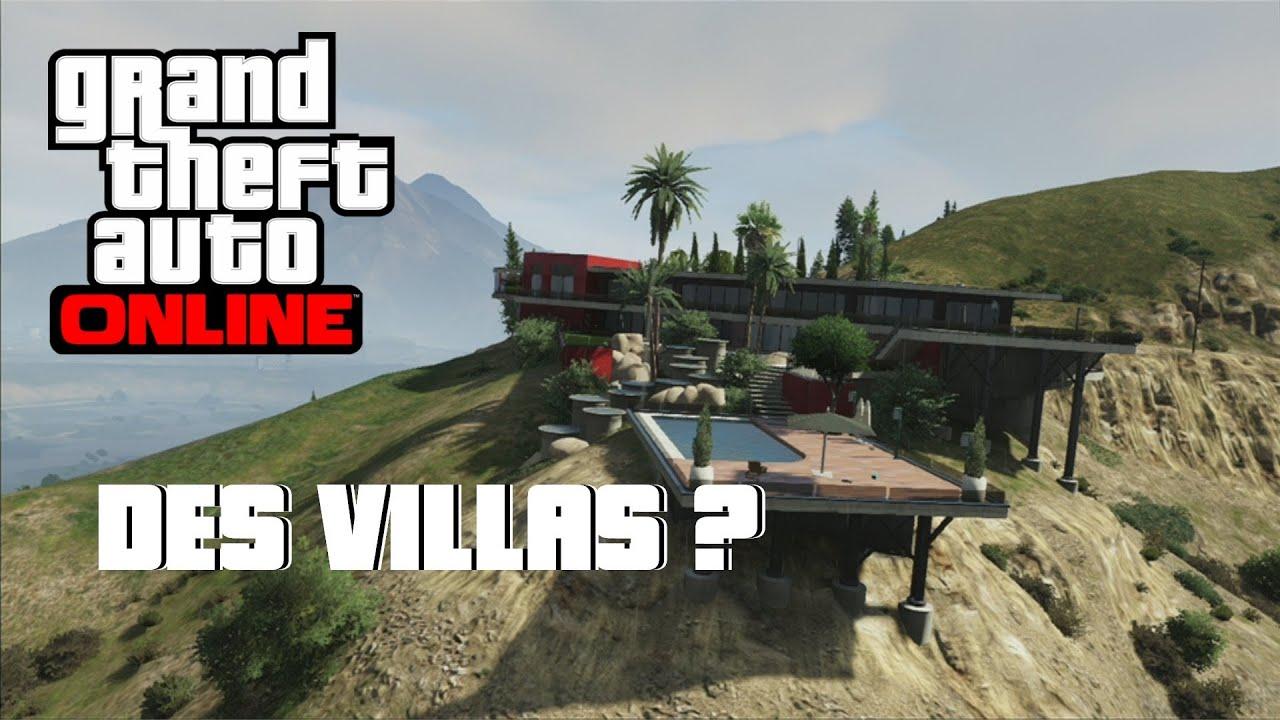GTA V Online Des Villas Pour Bientt Du Golf