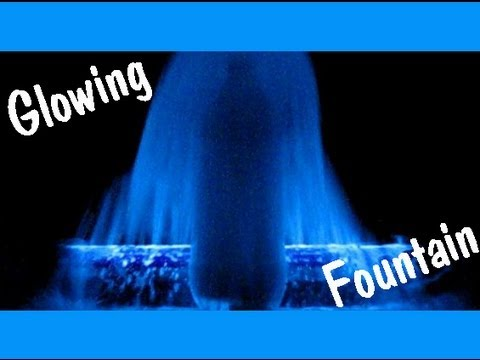 Glowing Mentos Fountain Easy Kids Science Experiments