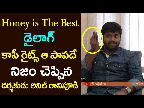 Honey is The Best Dialogue F2 Movie | Director Anil Ravipudi Exclusive Interview | Film Jalsa