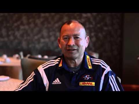 Eddie Jones says goodbye to the DHL Stormers
