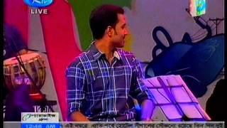 Badhon and Apu RTV Live Part 2